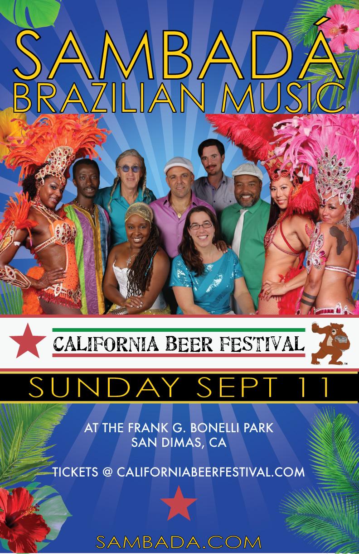 SUN.SEPT.11 – CALIFORNIA BEER FESTIVAL – SAN DIMAS, CA