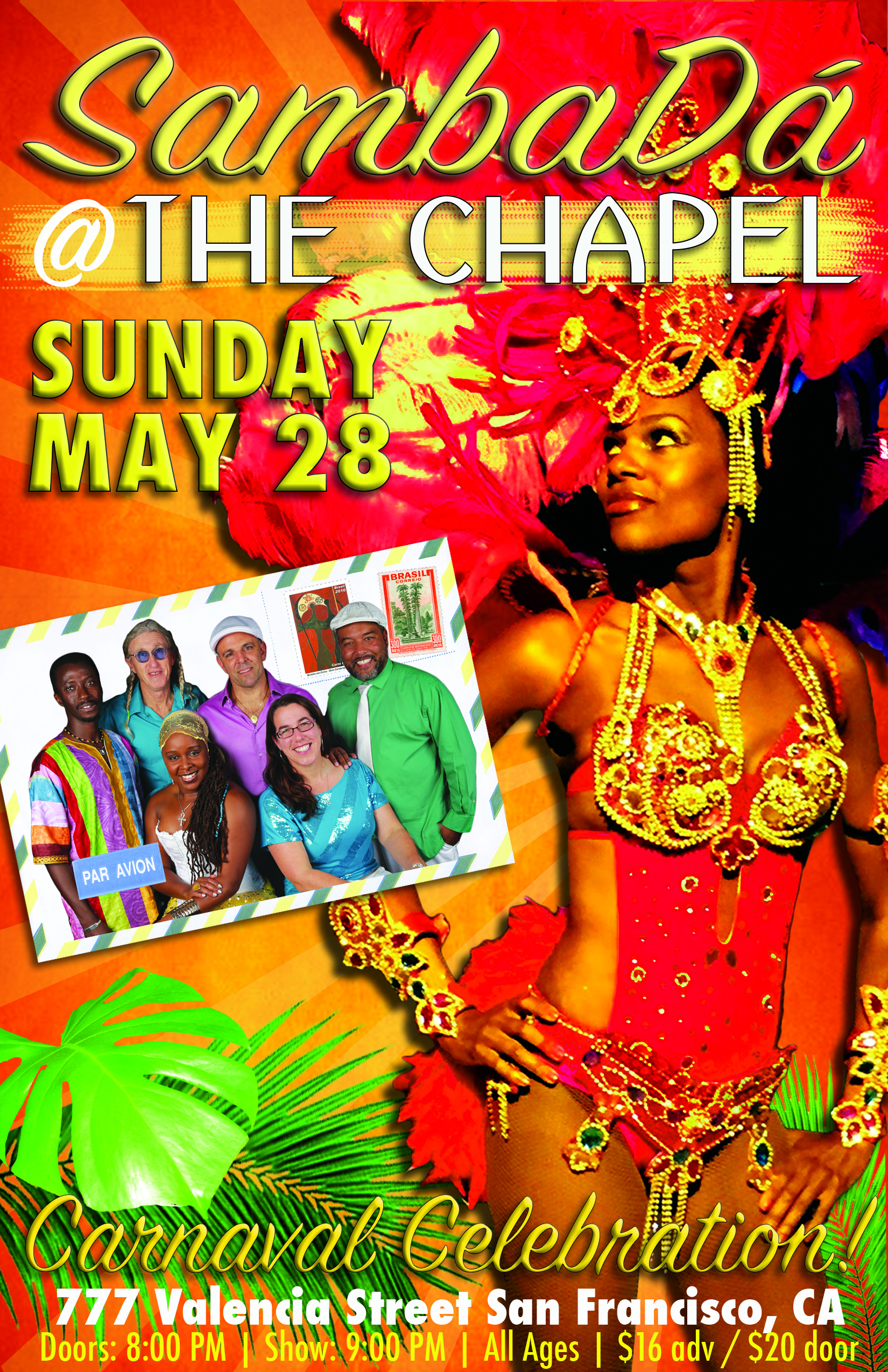 SUN.MAY.28 – THE CHAPEL – SAN FRANCISCO, CA