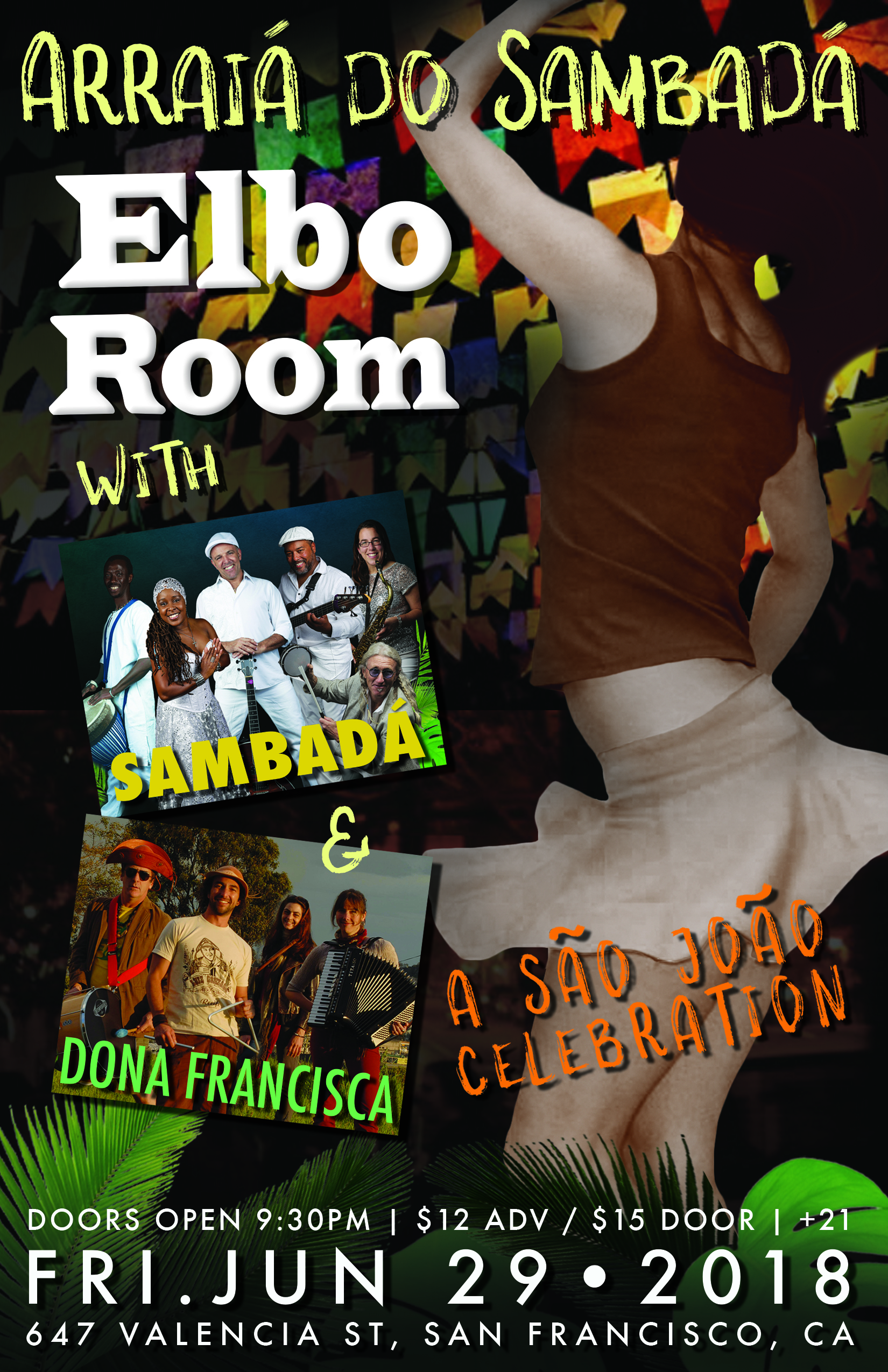 FRI.JUN.29 – ELBO ROOM – SAN FRANCISCO, CA