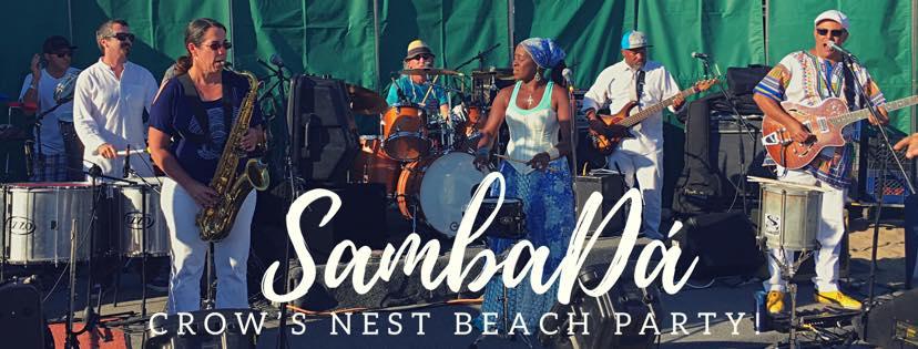 THURS.JUL.26 – CROW'S NEST BEACH PARTY – SANTA CRUZ, CA