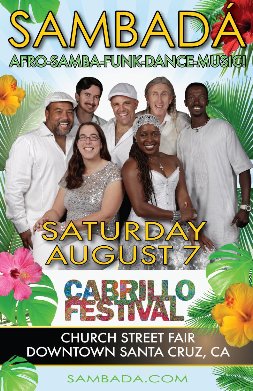 SUN.AUG.7 – CABRILLO MUSIC FESTIVAL –  SANTA CRUZ, CA