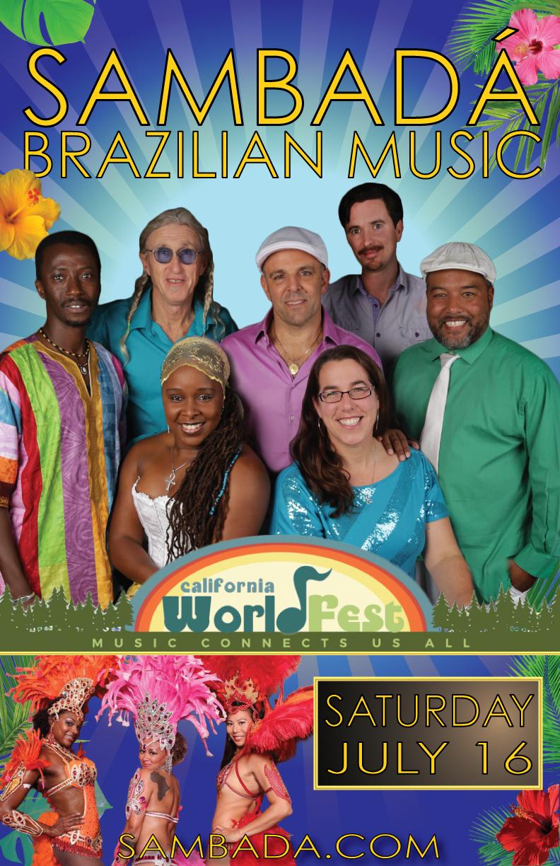 SAT.JULY.16 – WORLDFEST – NEVADA CITY-GRASS VALLEY, CA
