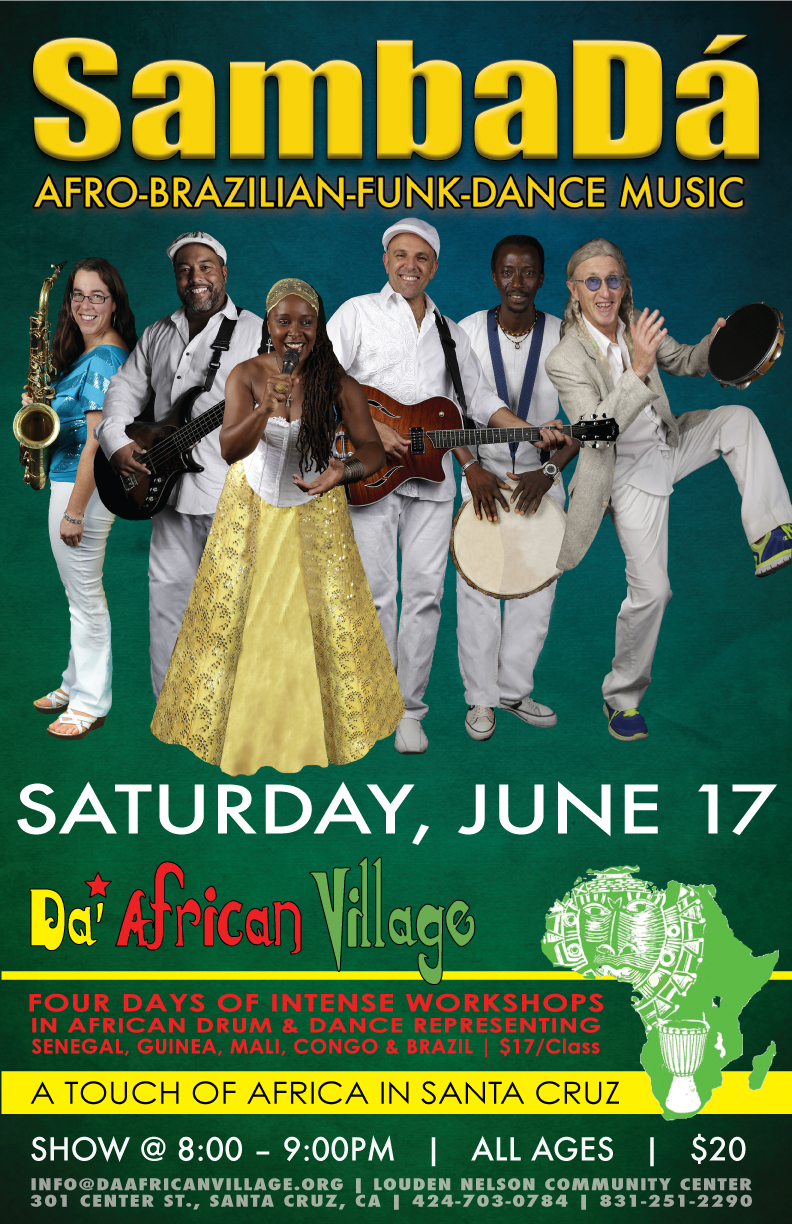 SAT.JUN.17 – TOUCH OF AFRICA – SANTA CRUZ, CA