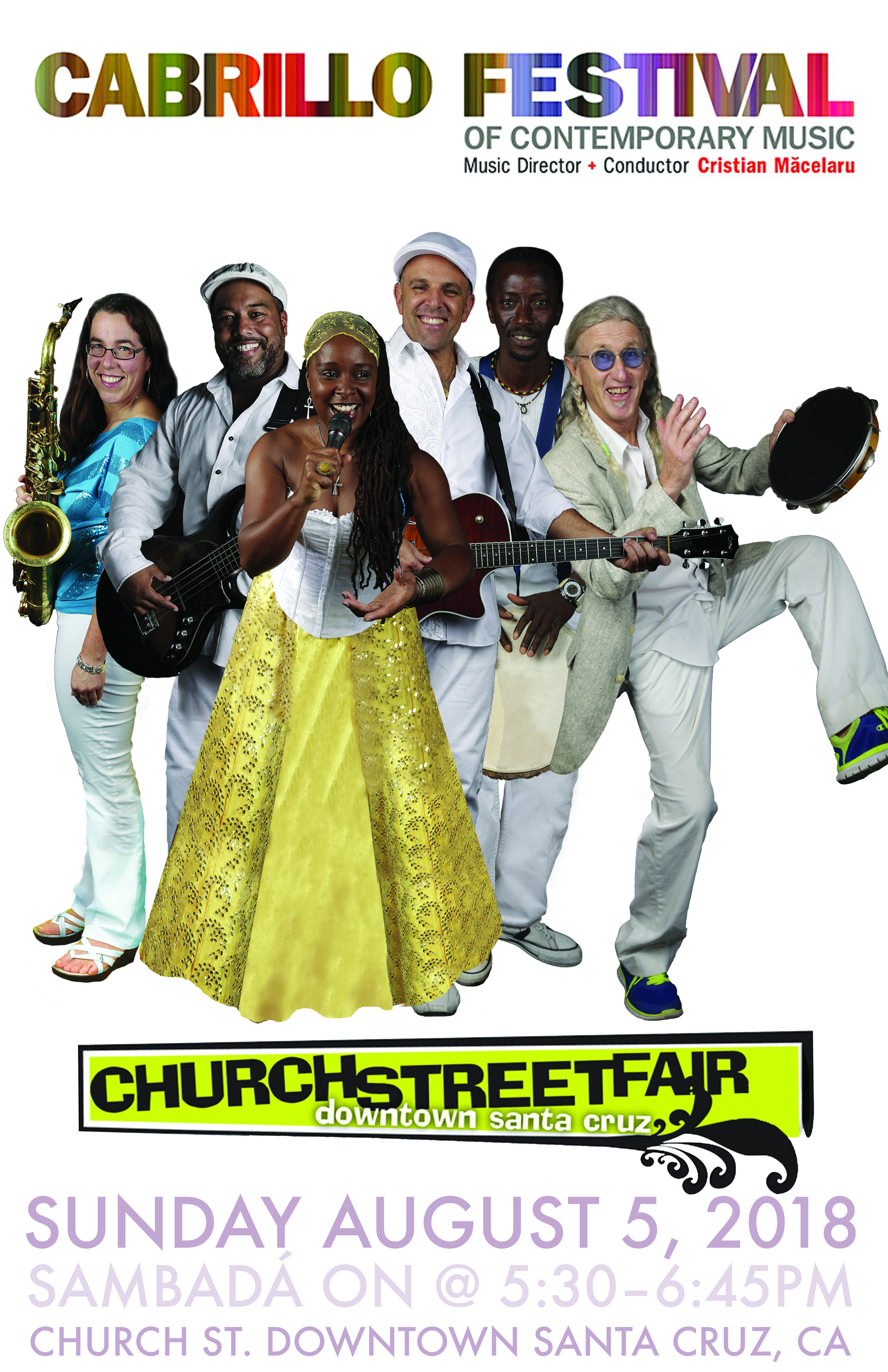 SUN.AUG.5 – CHURCH STREET FAIRE – SANTA CRUZ, CA