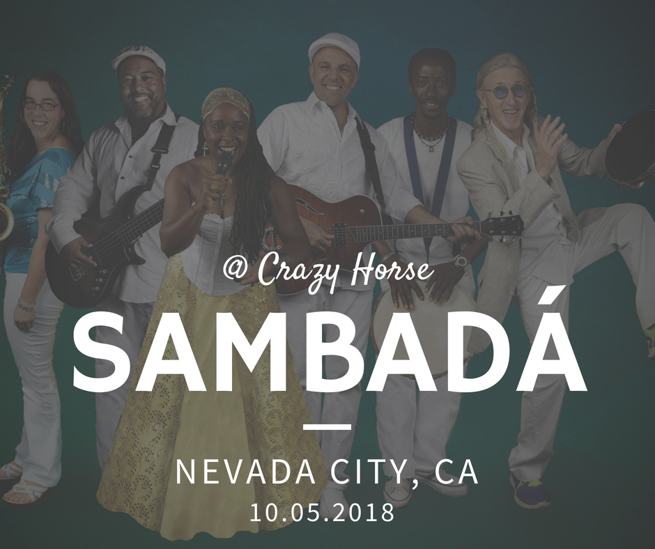 FRI.OCT.5 – CRAZY HORSE – NEVADA CITY, CA