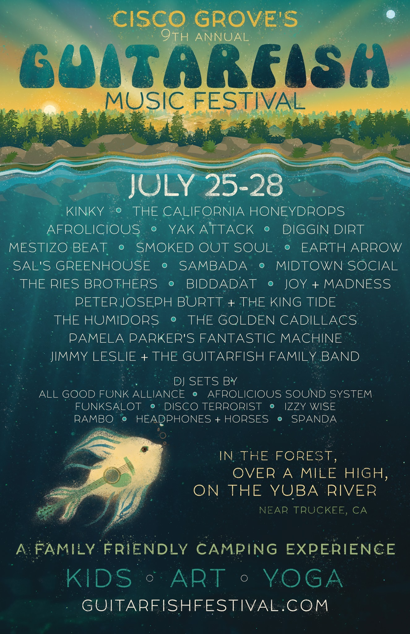 FRI&SAT.JUL.26&27 – GUITARFISH MUSIC FESTIVAL